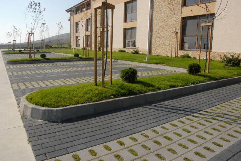 Bordura semicarosabila din beton ELIS PAVAJE - Poza 97