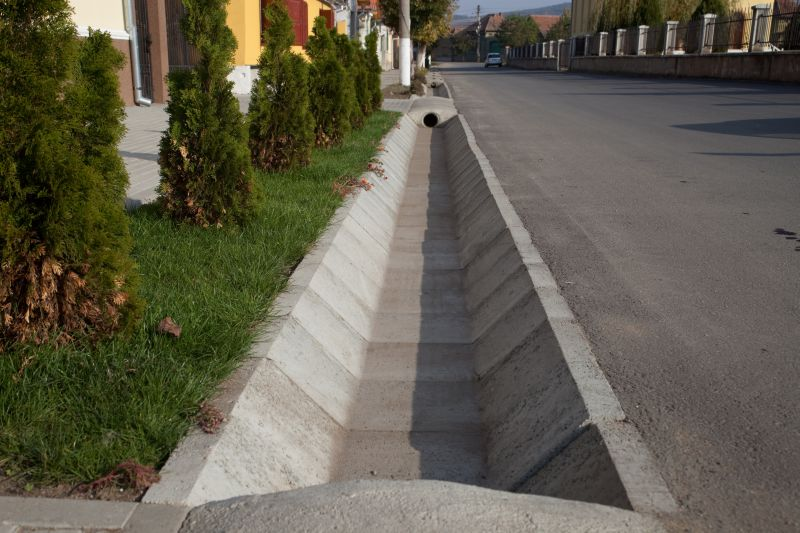 Sant trapezoidal prefabricat din beton ELIS PAVAJE - Poza 19