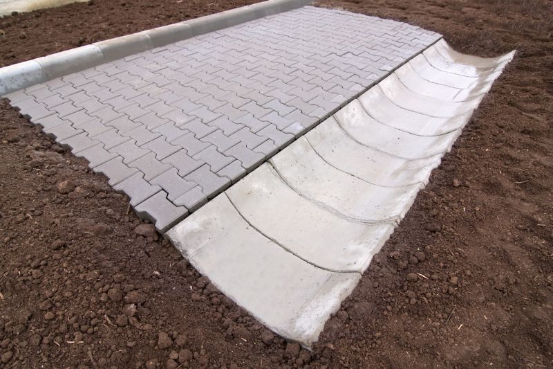 Sant trapezoidal prefabricat din beton ELIS PAVAJE - Poza 22