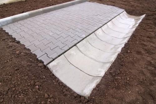 Prezentare produs Sant trapezoidal prefabricat din beton ELIS PAVAJE - Poza 22