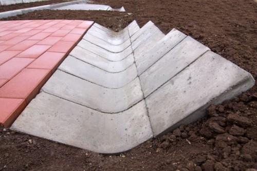 Prezentare produs Sant triunghiular prefabricat din beton  ELIS PAVAJE - Poza 23