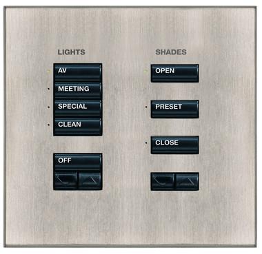 LUTRON, CRESTRON, AMX - Puncte de comanda (Keypad-uri) cu intrerupator ON/ OFF sau ecran LCD LUTRON - Poza 6