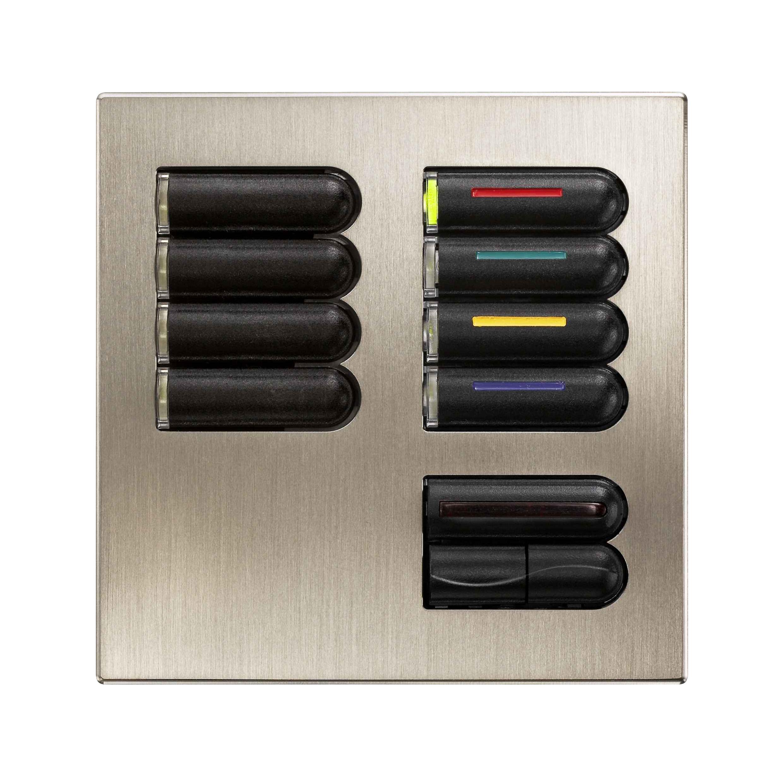 LUTRON, CRESTRON, AMX - Puncte de comanda (Keypad-uri) cu intrerupator ON/ OFF sau ecran LCD CRESTRON - Poza 1
