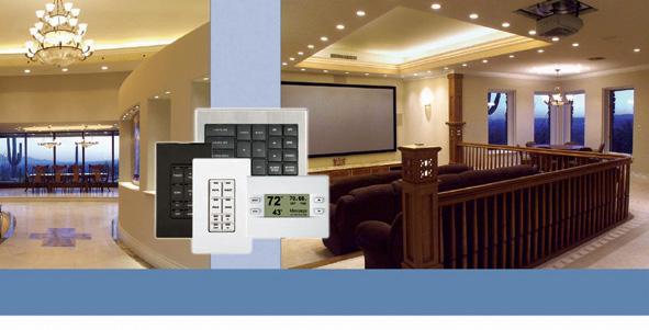LUTRON, CRESTRON, AMX - Puncte de comanda (Keypad-uri) cu intrerupator ON/ OFF sau ecran LCD CRESTRON - Poza 3