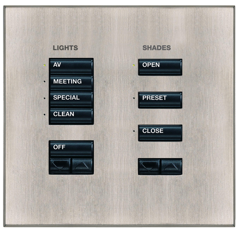 LUTRON, CRESTRON, AMX - Puncte de comanda (Keypad-uri) cu intrerupator ON/ OFF sau ecran LCD CRESTRON - Poza 6