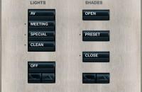 Sisteme de comutatie, control si comanda, variatoare electronice de intensitate luminoasa CRESTRON
