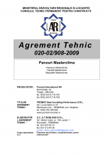 Agrement tehnic panouri - Masterclima PROMAT