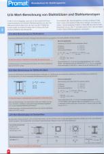 Calculul factorului U-A pentru vopsele de protectie la foc PROMAT