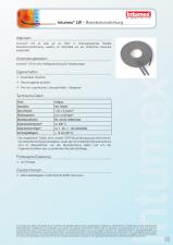 Garnitura flexibila, intumescenta pentru structuri sticla INTUMEX