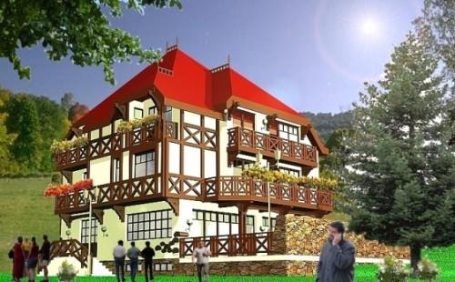 Lucrari, proiecte Cladiri pentru servicii turism  - Poza 62