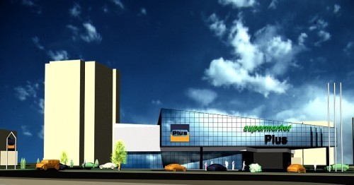 Lucrari, proiecte Studiu cladire supermarket  - Poza 87