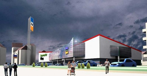 Lucrari, proiecte Studiu cladire supermarket  - Poza 88