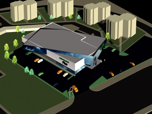 Lucrari, proiecte Studiu cladire supermarket  - Poza 89
