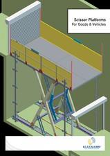 Platforme auto hidraulice cu foarfece KLEEMANN