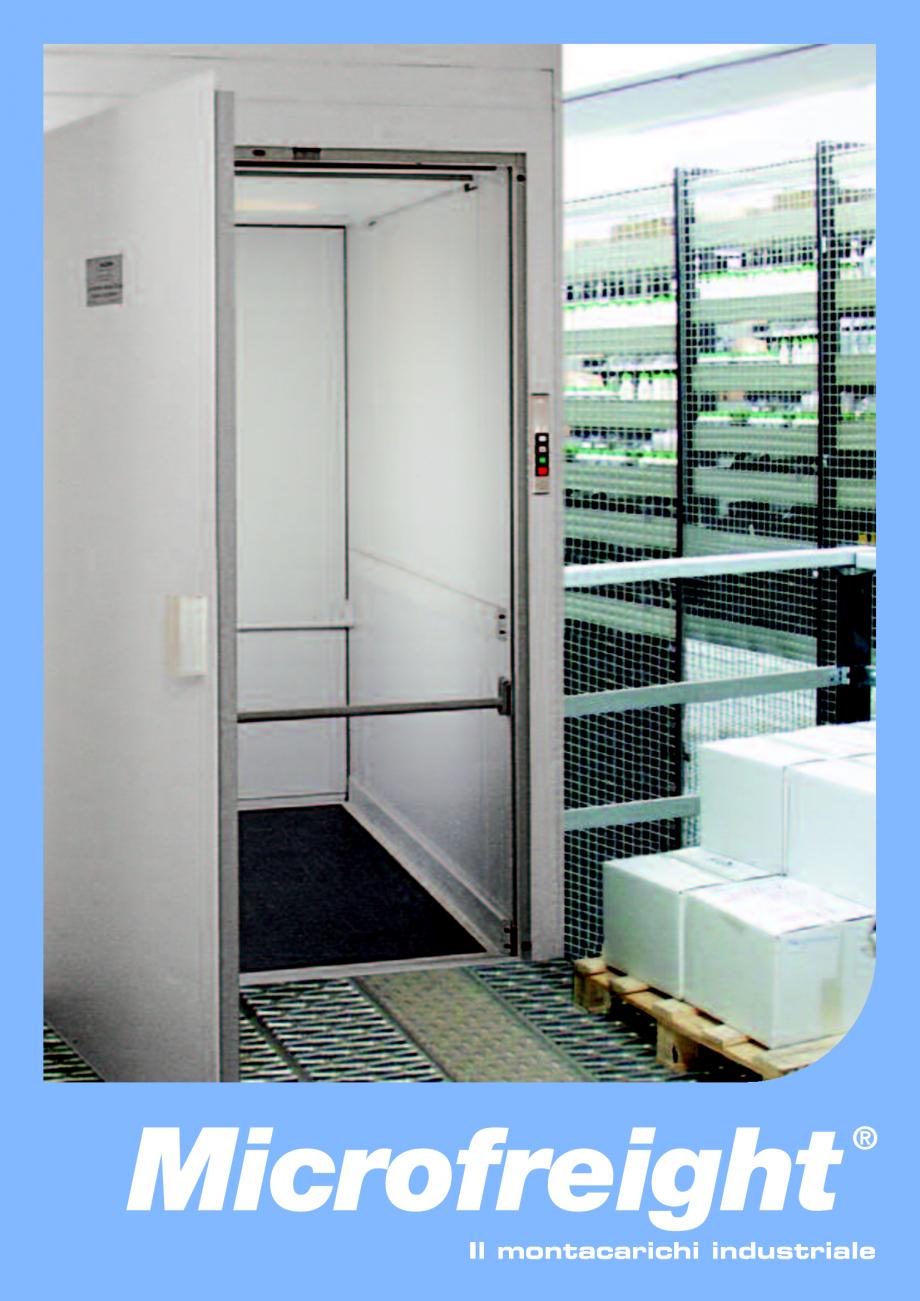 Catalog brosura ascensoare de marfa microfreight daldoss for Piani di cabina 32x32