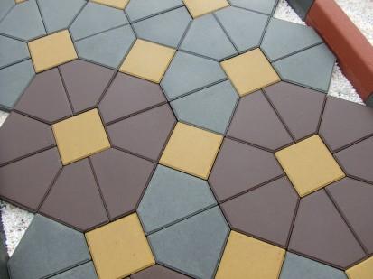 Pavaj din beton detaliu CIVIC Elemente pavaj din beton