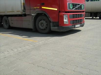 Elemente pavaj din beton / Pavaj din beton - Logistik