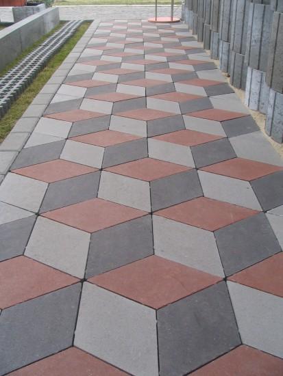 Pavaj din beton - amenajare alee RELIEF Elemente pavaj din beton