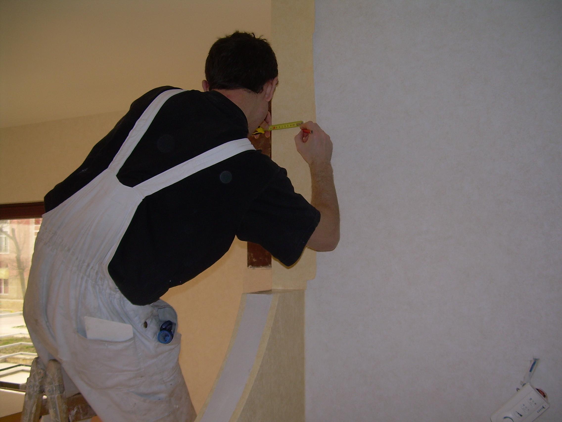 Lucrari de amenajare interioare cu tapet  - Poza 55