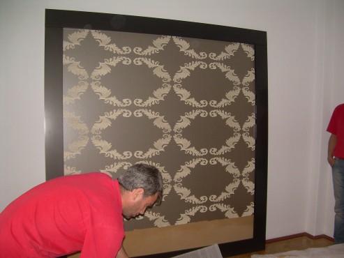 Lucrari de amenajare interioare cu tapet  - Poza 96