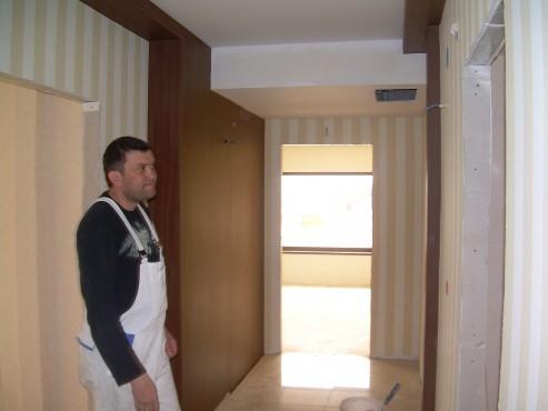 Lucrari de amenajare interioare cu tapet  - Poza 100