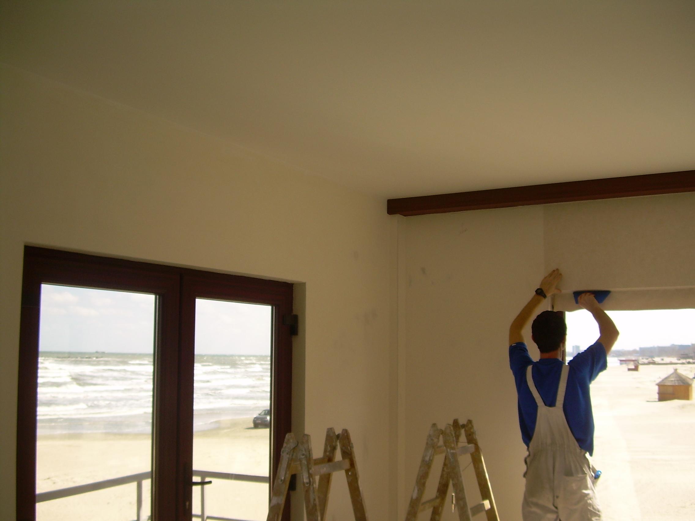 Lucrari de amenajare interioare cu tapet  - Poza 102