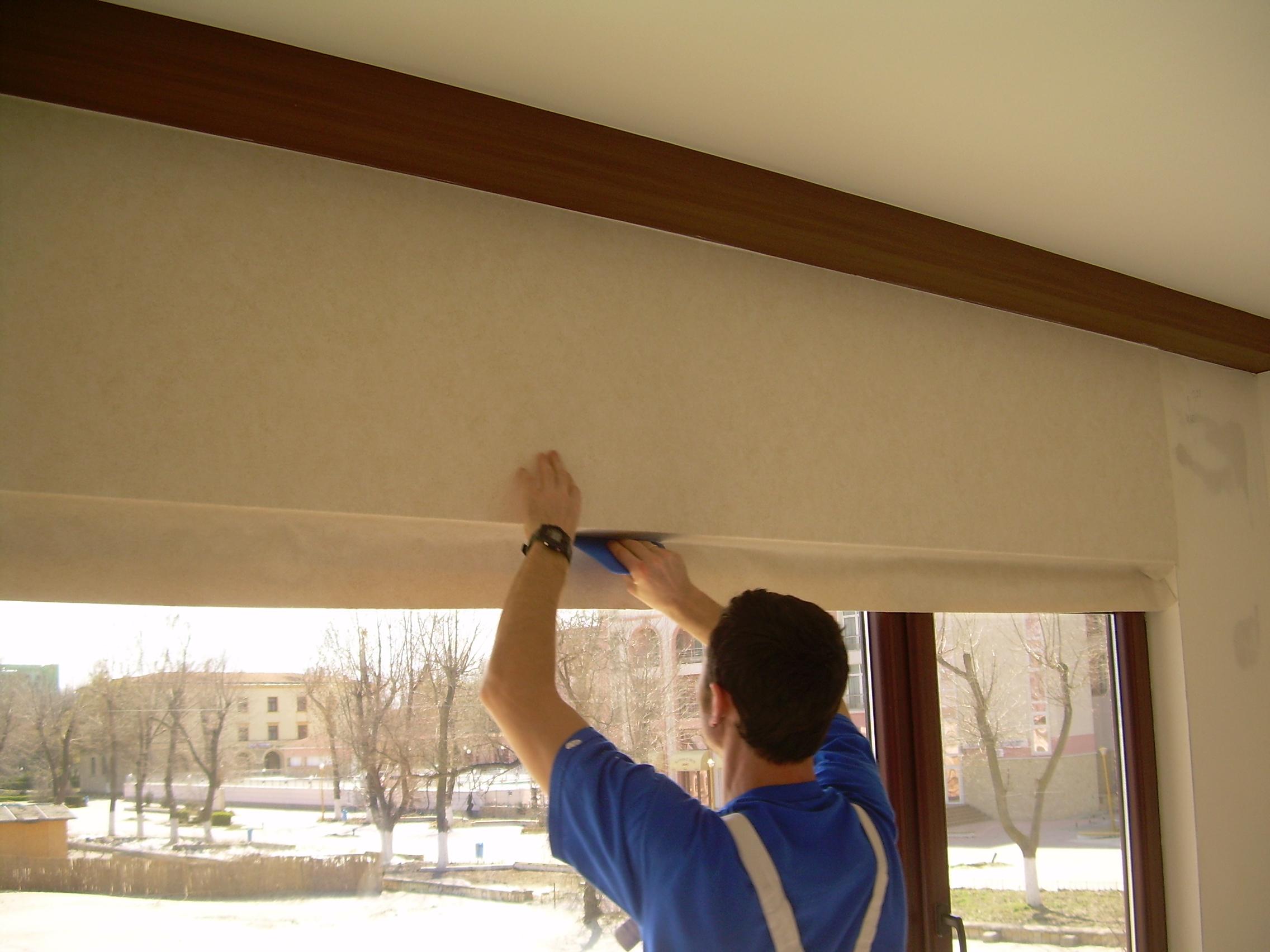 Lucrari de amenajare interioare cu tapet  - Poza 88