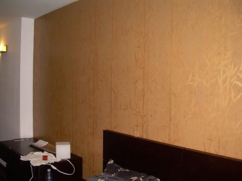 Lucrari de amenajare interioare cu tapet  - Poza 2