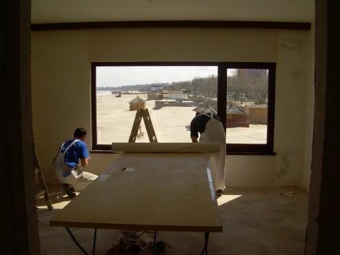 Lucrari de amenajare interioare cu tapet  - Poza 25