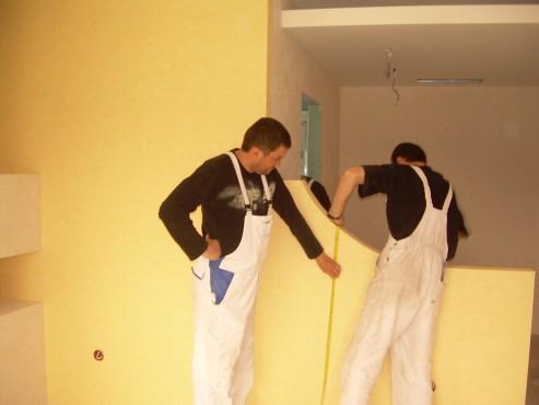 Lucrari de amenajare interioare cu tapet  - Poza 27