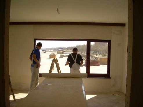 Lucrari de amenajare interioare cu tapet  - Poza 38