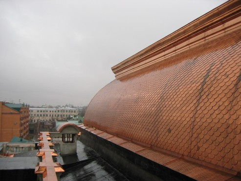 Lucrari, proiecte Panouri arhitecturale din cupru AURUBIS - Poza 34