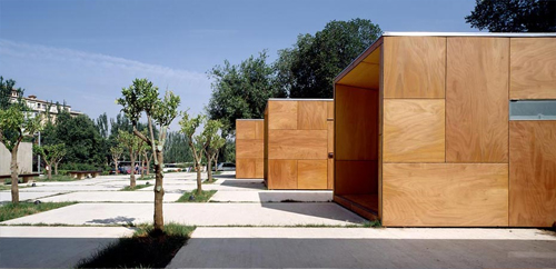 Panouri din lemn pentru placari PARKLEX Facade - Poza 22