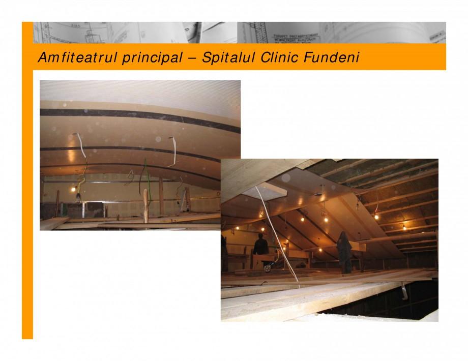 Pagina 3 - Lucrari privind acustica arhitecturala  Lucrari, proiecte Romana