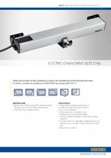 Sistem de actionare electrica pentru deschiderea ferestrelor prin actionare directa GEZE
