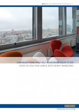 Sistem de actionare manuala pentru ferestre GEZE
