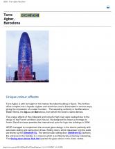 Automatizari pentru usi glisante si batante, Torre Agbar Barcelona GEZE