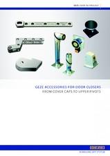 Amortizoare hidraulice pentru usi - Accesorii GEZE