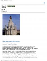 Echipamente de evacuare fum si gaze fierbinti Church of OurLady, Dresden GEZE