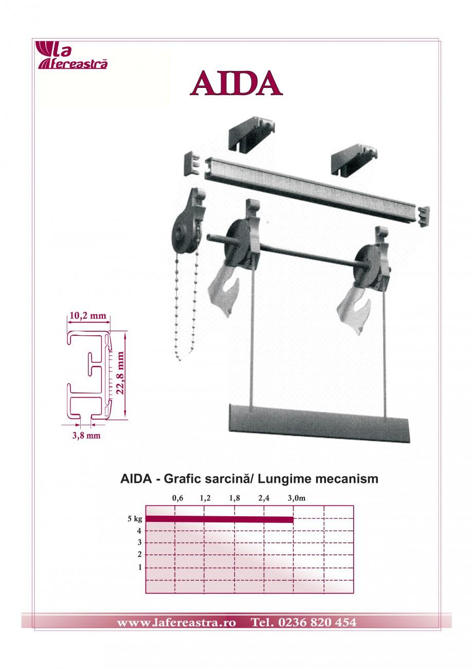 Pagina 1 - Mecanism pentru storuri romane LA FEREASTRA AIDA Fisa tehnica Romana AIDA  22,8 mm  10,2 ...
