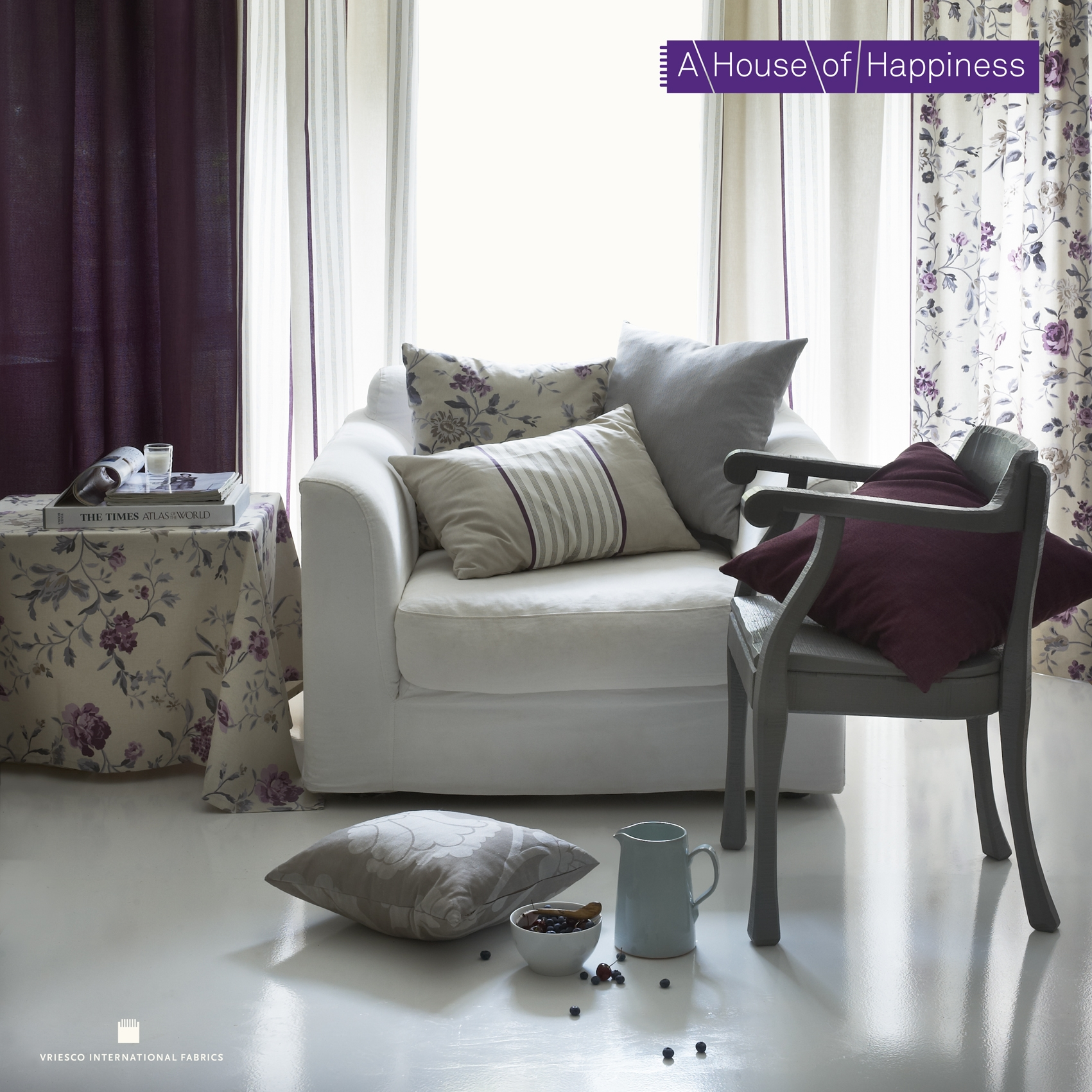 Materiale textile pentru perdele si draperii VRIESCO - Poza 1