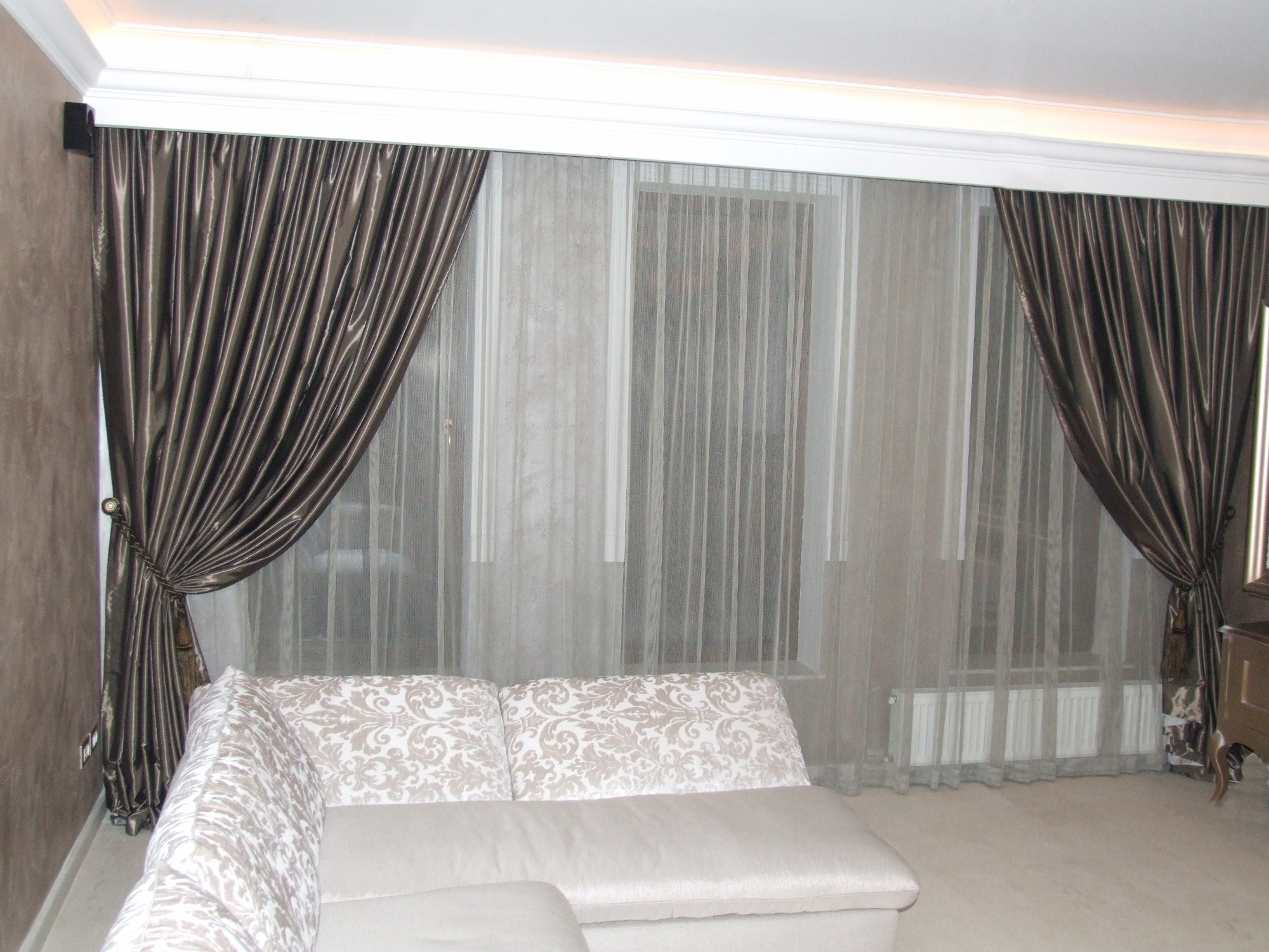 Perdele si draperii din materiale textile VRIESCO - Poza 1