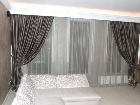 Lucrari, proiecte Perdele si draperii din materiale textile VRIESCO - Poza 1