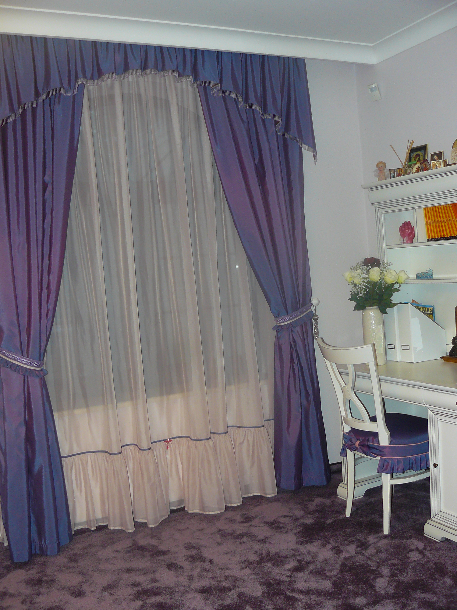 Perdele si draperii din materiale textile VRIESCO - Poza 9