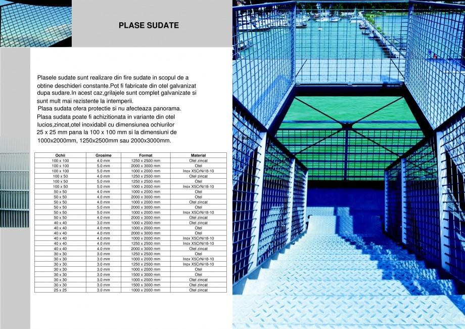 Pagina 1 - Plasa sudata STANTOBANAT Fisa tehnica Romana PLASE SUDATE  Plasele sudate sunt realizare ...