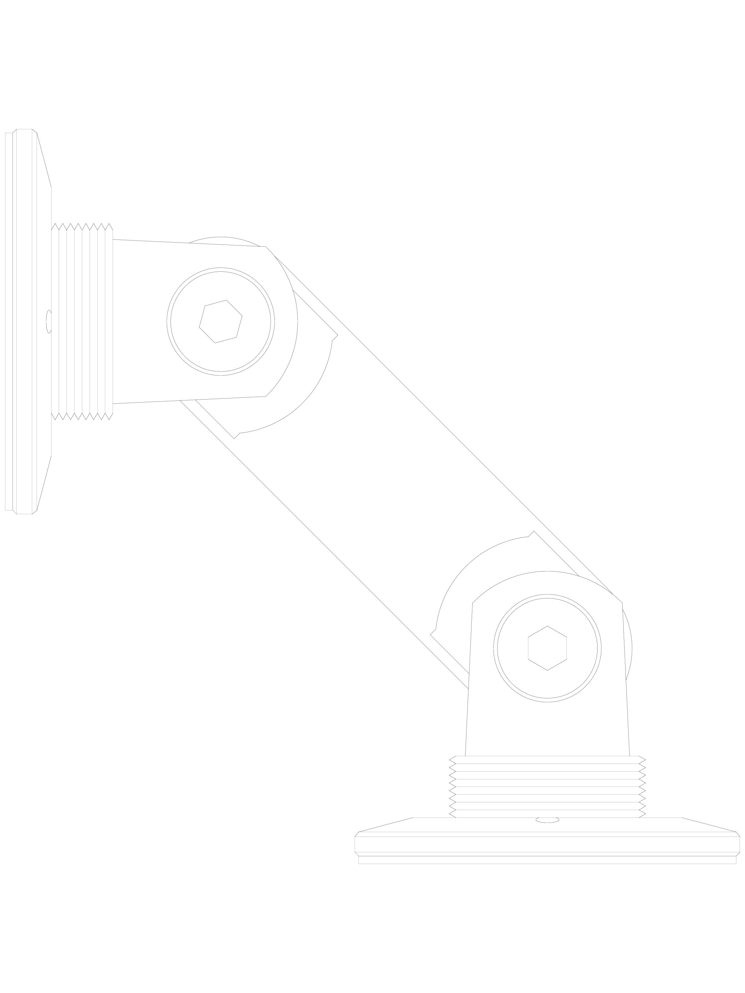 Pagina 1 - CAD-DWG Conector pentru sticla - 02-21-21 D SADEV DECOR Detaliu de produs Conectori