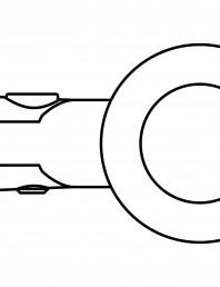 Conector pentru sticla - 02-21-21 F