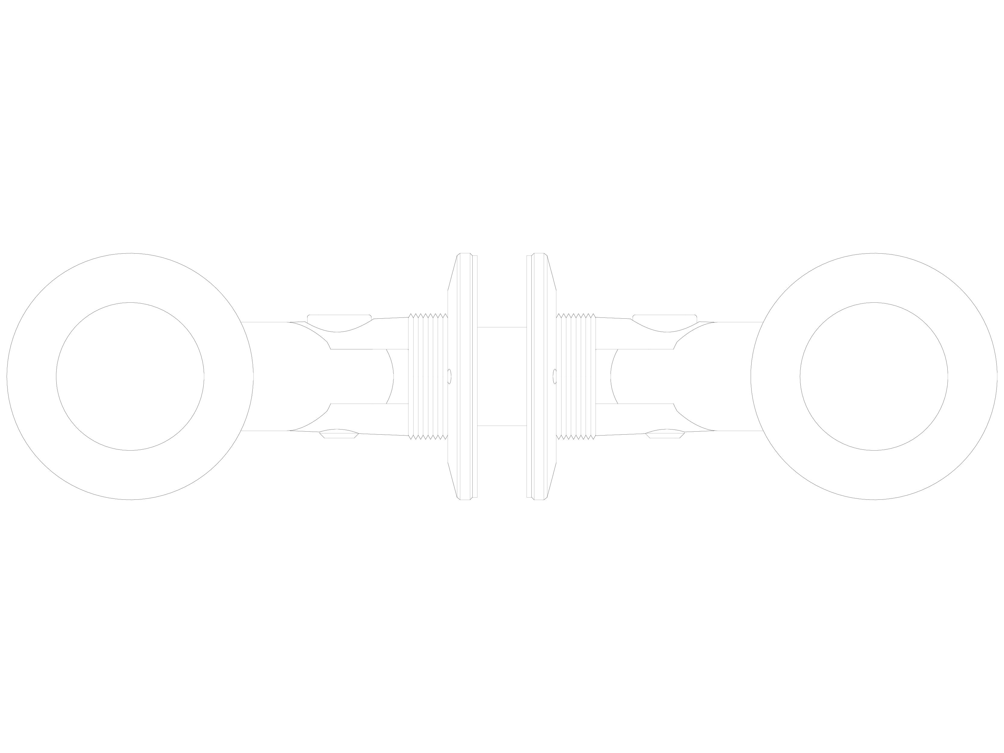 Pagina 1 - CAD-DWG Conector pentru sticla - 02-21-21C F SADEV DECOR Detaliu de produs Conectori