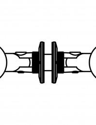 Conector pentru sticla - 02-21-21C F