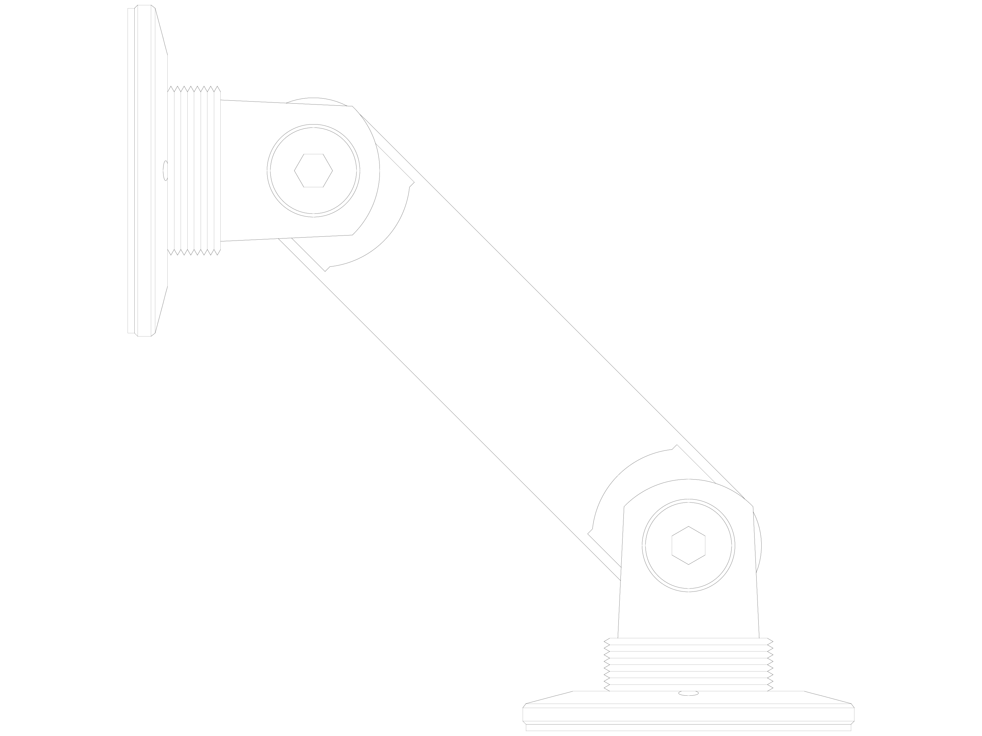 Pagina 1 - CAD-DWG Conector pentru sticla - 02-21-22 D SADEV DECOR Detaliu de produs Conectori